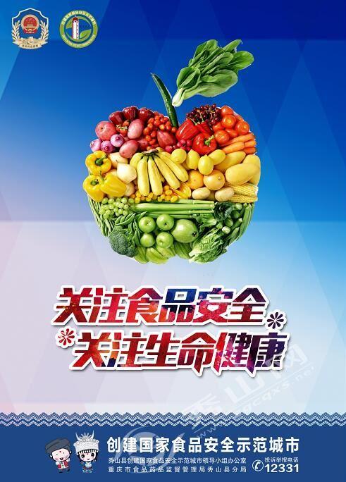 创建食品安全城市宣传册
