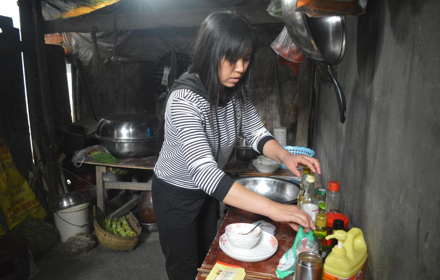 雅江镇郑素芳:为爱撑起一个家