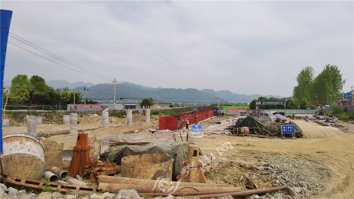 秀山县城至清溪快速通道公路最新进展